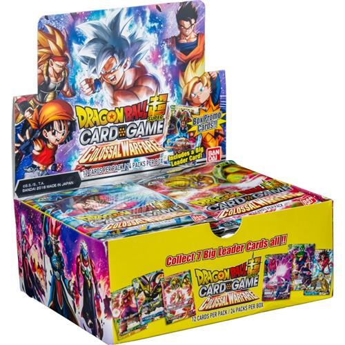 Dragon Ball Super Series 4 Colossal Warfare Special Set 4 Booster Packs Sealed