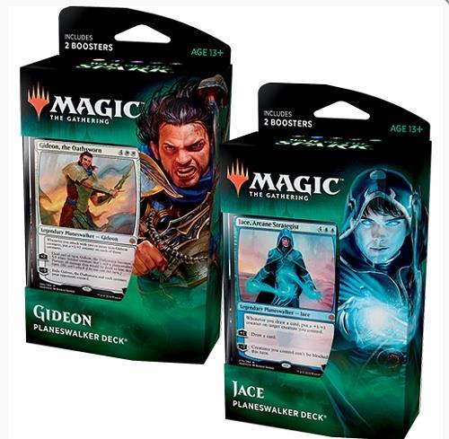 Details about MTG Magic the Gathering War Of The Spark Set of Both  Planeswalker Decks New