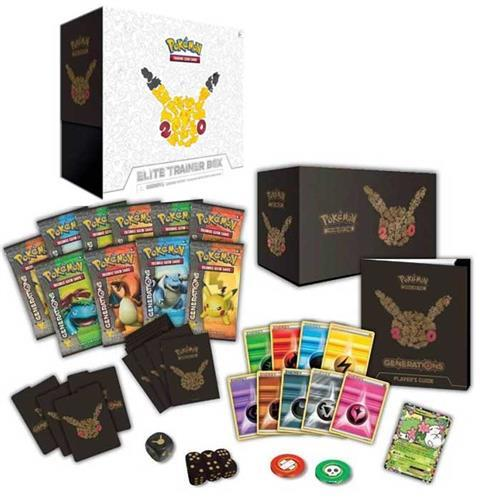 AVAILABLE NOW! Pokemon Generations Elite Trainer Box