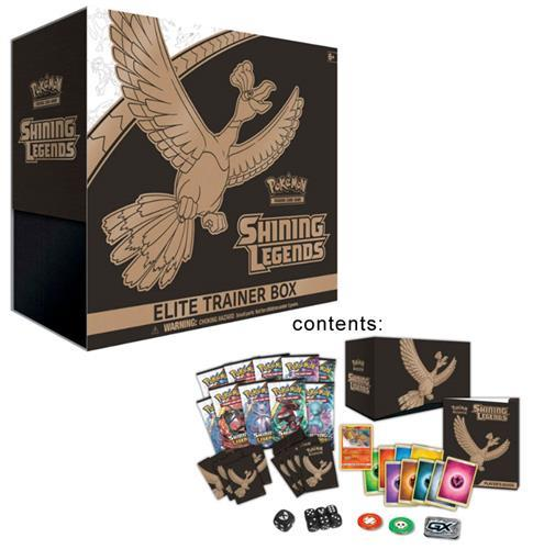 POKEMON SHINING LEGENDS TCG SUN & MOON ELITE TRAINER