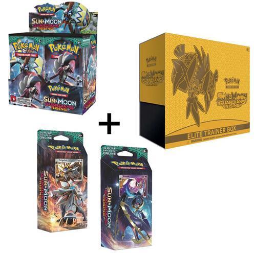Pokemon Guardians Rising Booster Box + Elite Trainer