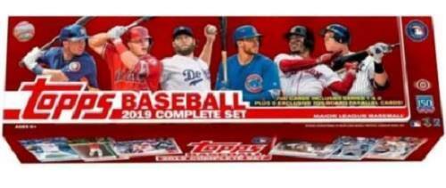 Details About 2019 Topps Baseball Cards Hobby Factory Set 700 Cardsset 5 Bonus Cards